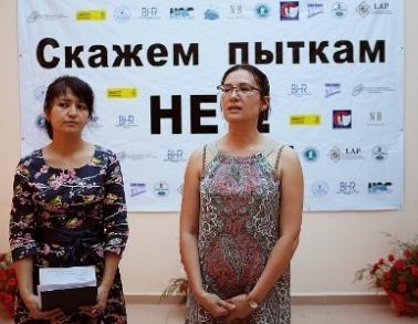 Фотогалерея акции «Скажем пыткам - Нет!»