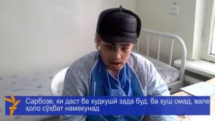 Раненый солдат начал общаться с помощью знаков