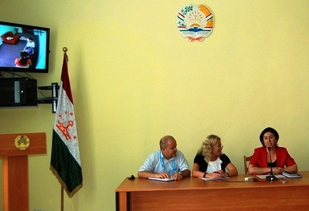 Child-friendly court room introduced in Tajikistan